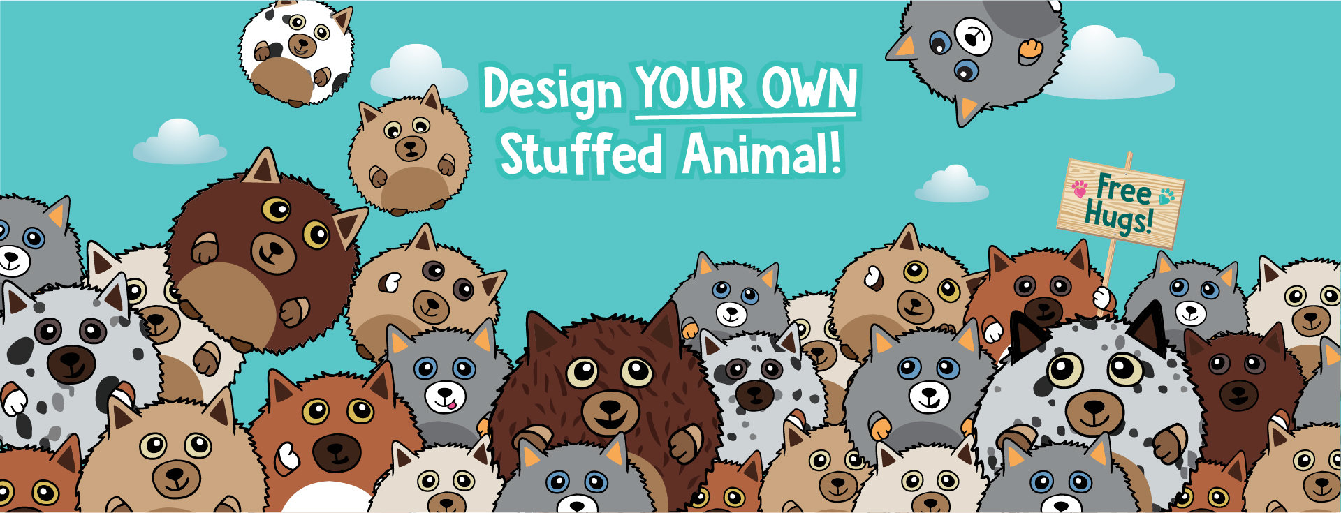 Design your own custom plush